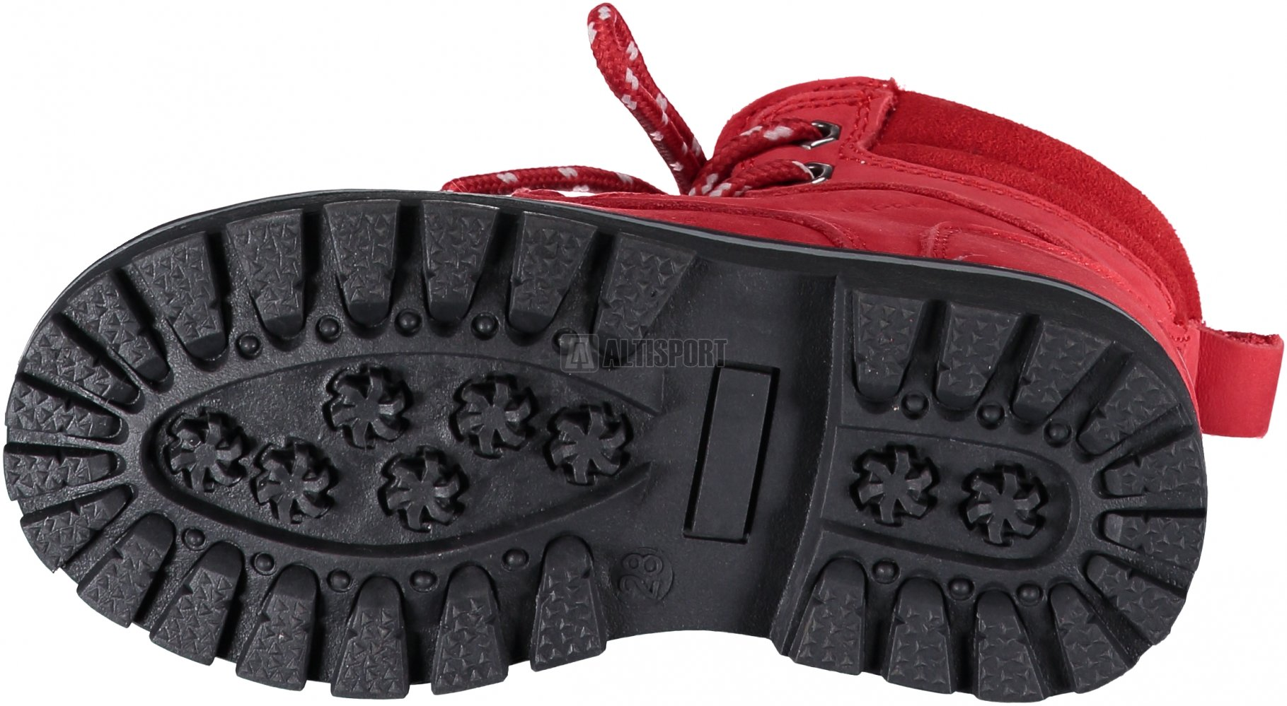Dětské kotníkové boty ALPINE PRO JINNY KBTK151 ČERVENÁ velikost  EU ... 45ff72f8314