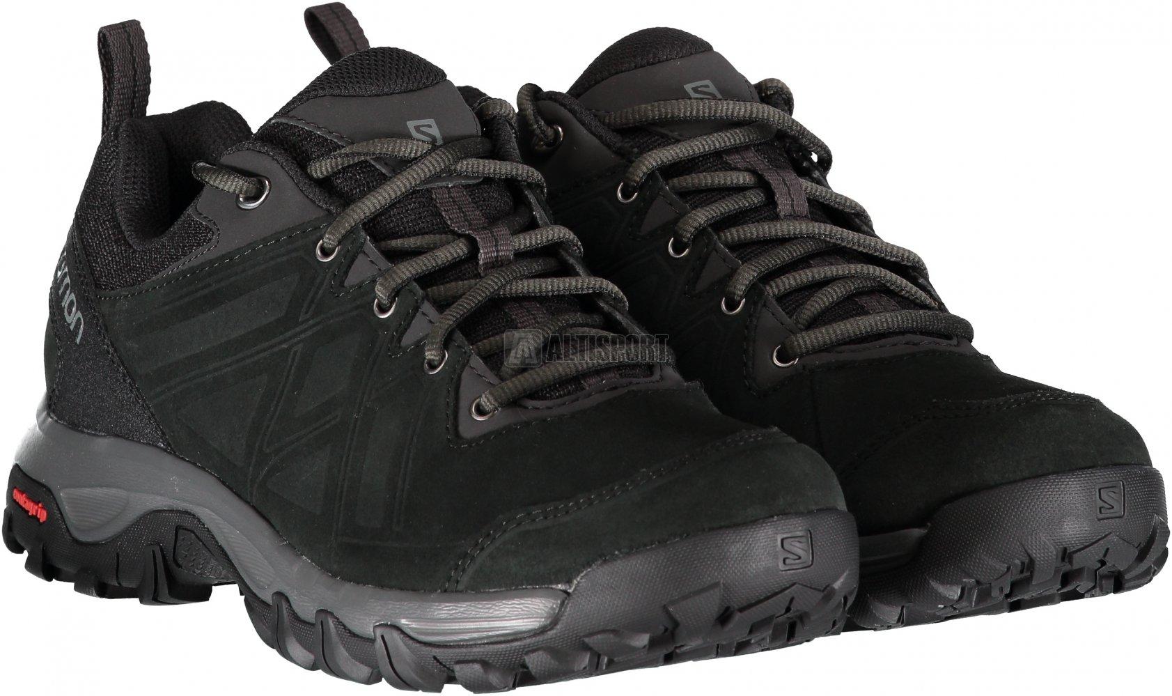 Pánské trekové boty SALOMON EVASION 2 LTR BLACK BLACK QUIET SHADE ... 0466f81856