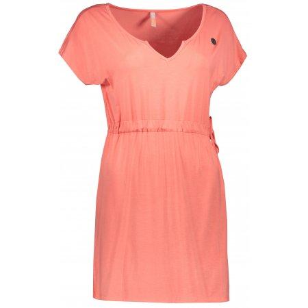 Dámské šaty NORDBLANC SUNDRY NBSLD6766 RŮŽOVÁ MANDARINKA
