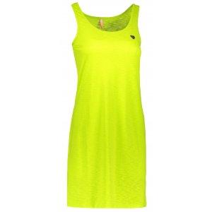 Dámské šaty NORDBLANC ASCETIC NBSLD6767 JASNĚ ZELENÁ