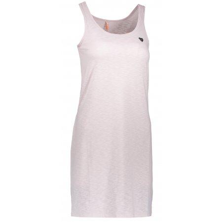 Dámské šaty NORDBLANC ASCETIC NBSLD6767 LILIOVĚ ŠEDÁ