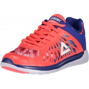 Dámská běžecká obuv PEAK RUNNING SHOES E61288H ZÁŘIVĚ ČERVENÁ/FIALOVÁ