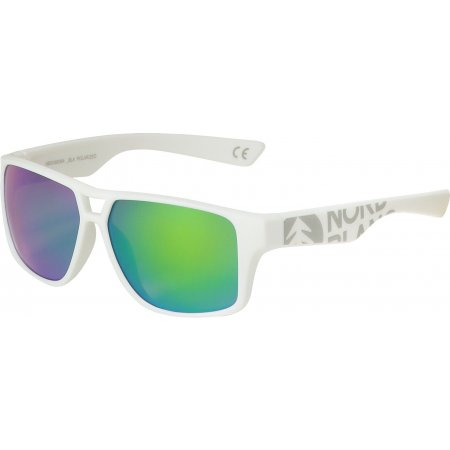 Sluneční brýle NORDBLANC NBSG6836A FRIZZLE BÍLÁ