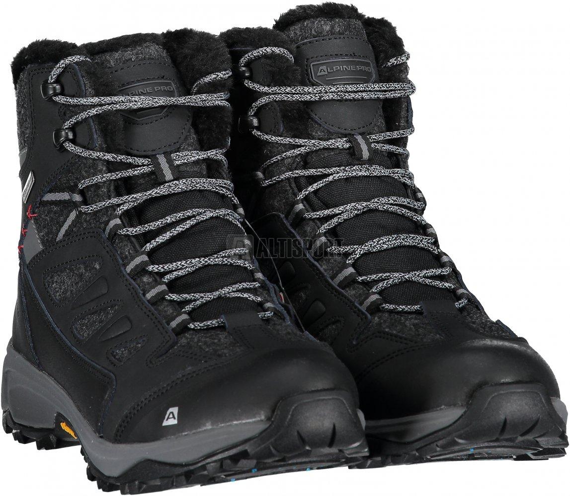 Pánské zimní boty ALPINE PRO ALTAIR MBTM155 ČERNÁ velikost  EU 41 ... 30de3c91b0d