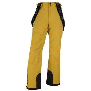 Pánské lyžařské kalhoty  KILPI METHONE-M JM0012KI ŽLUTÁ