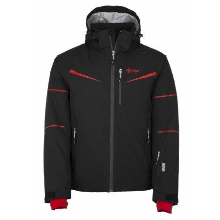 Pánská lyžařská bunda  KILPI MARTIN-M JM0163KI ČERNOČERVENÁ