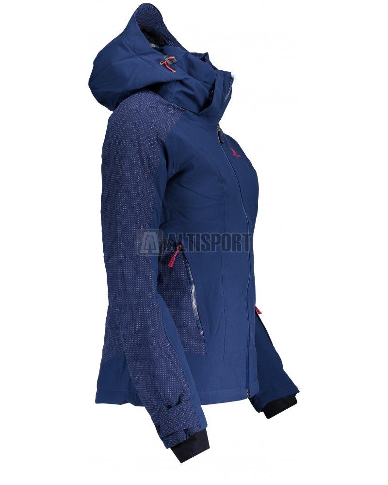 Dámská lyžařská bunda SALOMON BRILLIANT JKT W L40300300 MEDIEVAL BLUE de2f424aaa