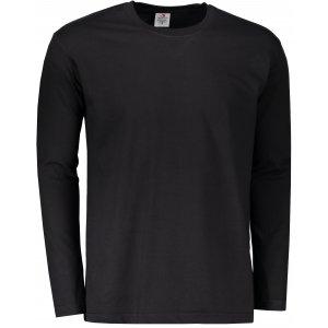 Pánské triko s dlouhým rukávem STEDMAN CLASSIC T BLACK OPAL