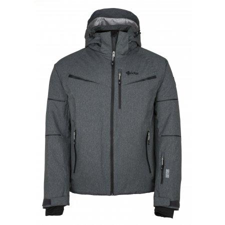 Pánská lyžařská bunda  KILPI MARTIN-M JM0163KI TMAVĚ ŠEDÁ