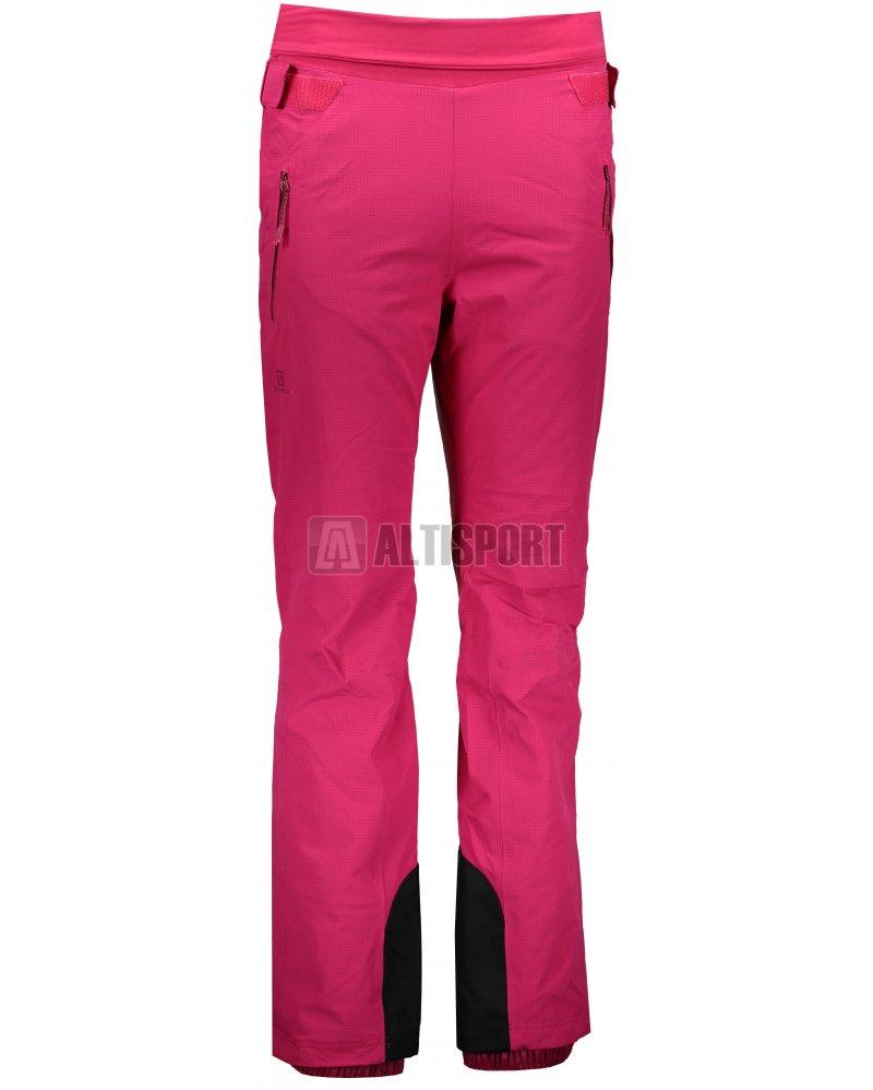 Dámské lyžařské kalhoty SALOMON CATCH ME PANT W L40368800 CERISE ... 8949b83eb8