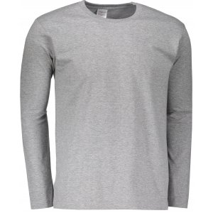 Pánské triko s dlouhým rukávem STEDMAN CLASSIC T GREY HEATHER