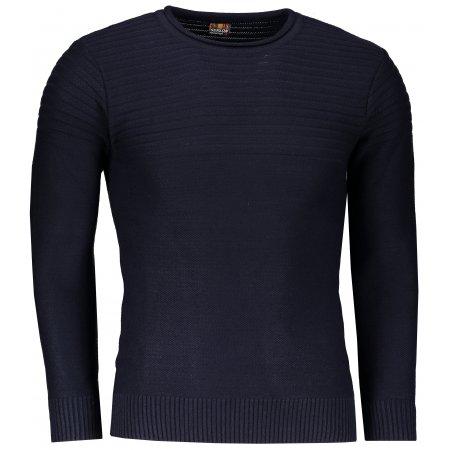 Pánský svetr OMBRE AE136 NAVY