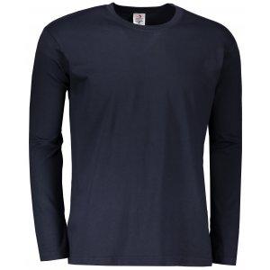 Pánské triko s dlouhým rukávem STEDMAN CLASSIC T BLUE MIDNIGHT