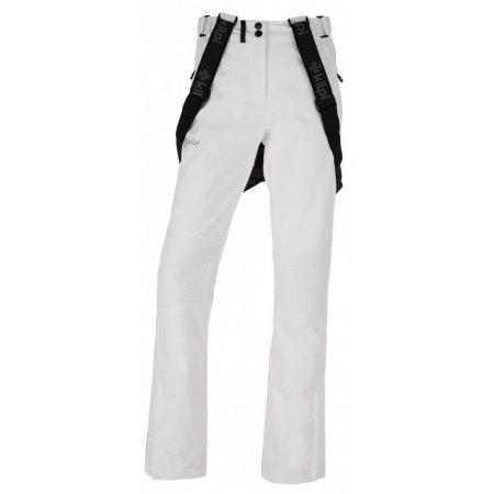 Dámské zimní softshellové kalhoty  KILPI DIONE-W JL0013KI BÍLÁ