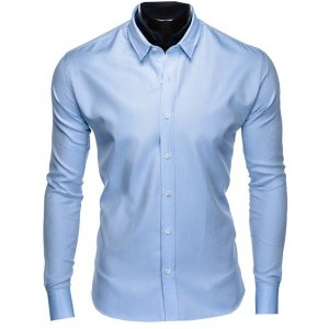 Pánská košile OMBRE AK432 LIGHT BLUE