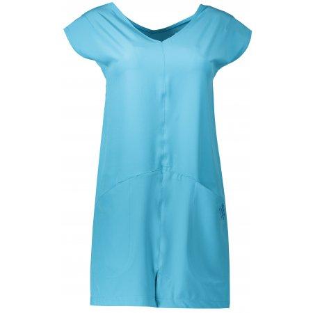 Dámské sportovní šaty ALPINE PRO VAKIA 2 LSKN149 SVĚTLE MODRÁ