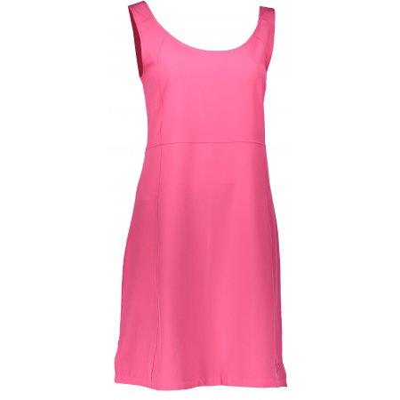 Dámské sportovní šaty ALPINE PRO ELANDA 3 LSKN150 RŮŽOVÁ