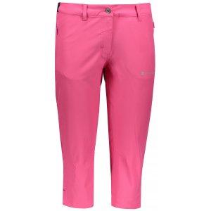 Dámské 3/4 kalhoty ALPINE PRO KADEKA 2 LPAN316 RŮŽOVÁ