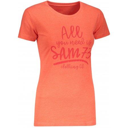 Dámské triko SAM 73 KYRINA LTSN476 ORANŽOVÁ