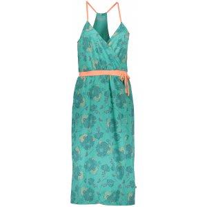Dámské šaty ALPINE PRO BALERA LSKN153 ZELENÁ