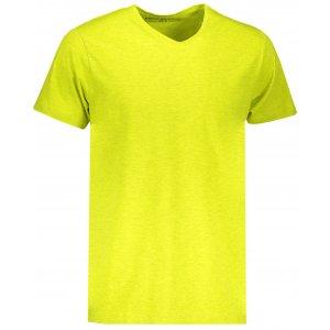 Pánské triko s krátkým rukávem ALPINE PRO SESH MTSN436 ŽLUTÁ