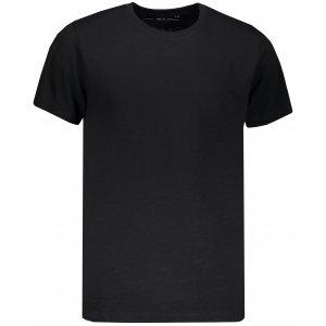 Pánské triko s krátkým rukávem ALPINE PRO EDWIN MTSN445 ČERNÁ