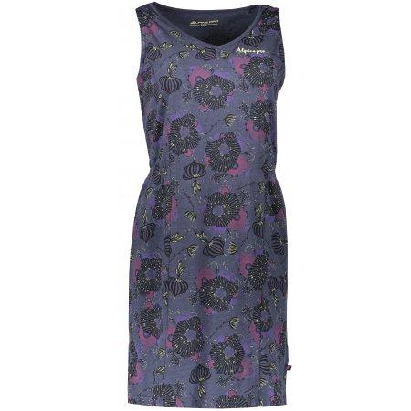 Dámské šaty ALPINE PRO VICA LSKN152 MODRÁ