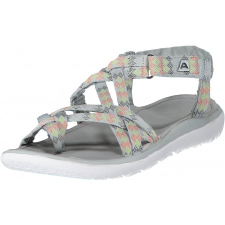 Dámské sandále ALPINE PRO GURANTA LBTN196 ŠEDÁ