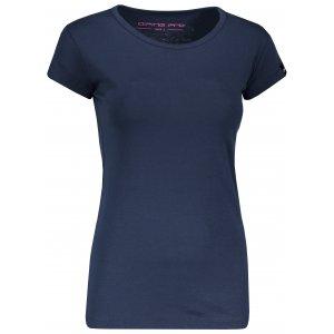 Dámské triko s krátkým rukávem ALPINE PRO KREJA LTSN564 TMAVĚ MODRÁ