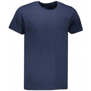 Pánské triko s krátkým rukávem ALPINE PRO NILAQ MTSN435 TMAVĚ MODRÁ
