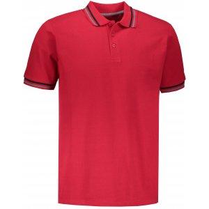 Pánské triko s límečkem ALPINE PRO NOVIL MTSN418 RŮŽOVÁ