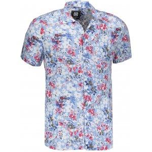 Pánská košile OMBRE AK485 LIGHT BLUE