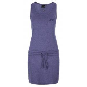Dámské šaty KILPI MAZAMBT-W KL0218KI TMAVĚ MODRÁ