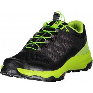 Pánské běžecké boty SALOMON XA DISCOVERY L40605900 BLACK/LIME GREEN/MAGNET