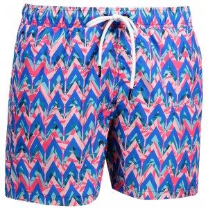 Pánské šortky OMBRE AW151 BLUE/CORAL