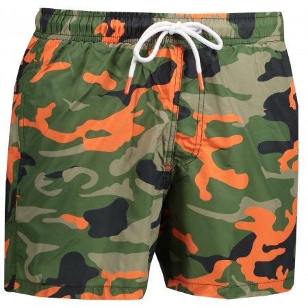 Pánské šortky OMBRE AW160 GREEN/MORO