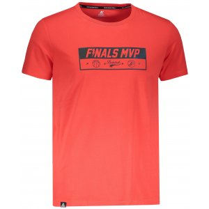 Pánské triko s krátkým rukávem PEAK ROUND NECK T SHIRT FW691291 ORANŽOVÁ