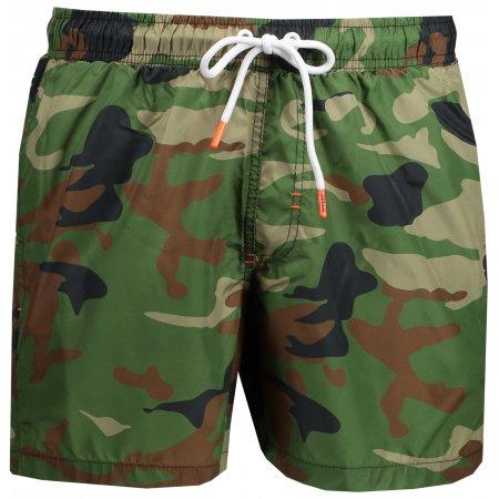Pánské šortky OMBRE AW159 GREEN/MORO