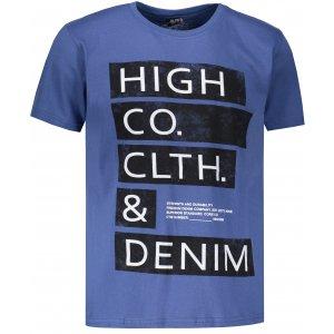 Pánské triko OMBRE AS1141 BLUE