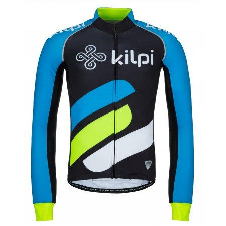 Pánský cyklistický dres KILPI RAPITA-M KM0075KI MODRÁ