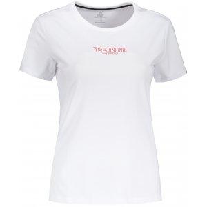 Dámské tričko PEAK ROUND NECK T SHIRT FW691112 BÍLÁ