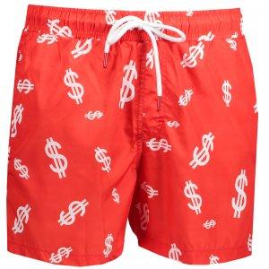 Pánské šortky OMBRE AW141 RED