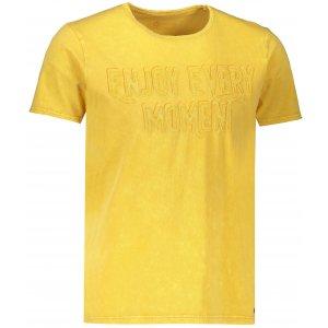 Pánské triko HUSKY BUENO M KRÉMOVĚ ŽLUTÁ