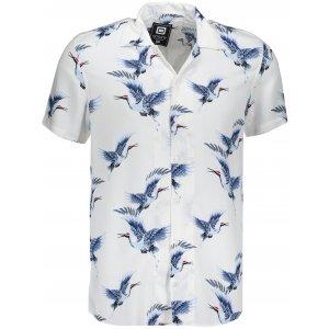 Pánská košile OMBRE AK483 WHITE