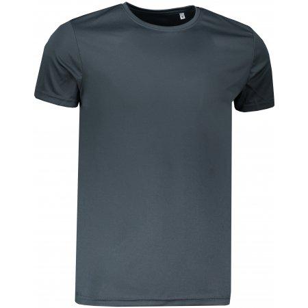 Pánské funkční triko STEDMAN ACTIVE SPORTS-T GRANITE GREY