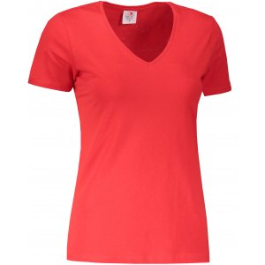 Dámské triko STEDMAN CLASSIC-T V-NECK SCARLET RED