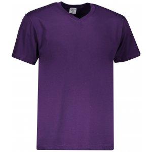 Pánské triko STEDMAN CLASSIC-T V-NECK DEEP BERRY