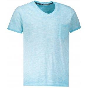 Pánské triko OMBRE AS1053 LIGHT BLUE