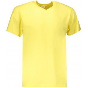 Pánské triko STEDMAN CLASSIC-T V-NECK YELLOW