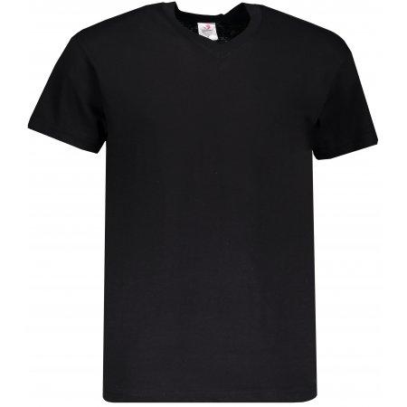 Pánské triko STEDMAN CLASSIC-T V-NECK BLACK OPAL
